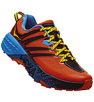 Hoka One One Speedgoat 3 - scarpe trail running - uomo, Orange/Light Blue