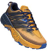 Hoka One One Speedgoat 4 - Trailrunningschuh - Herren, Orange/Blue