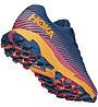 Hoka One One Torrent 2 - scarpe trail running - donna, Blue/Red/Orange