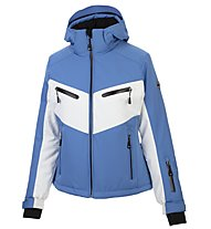 Hot Stuff Alberta - Skijacke - Damen, Light Blue/White