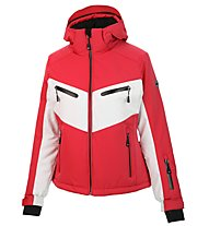 Hot Stuff Alberta - Skijacke - Damen, Red/White