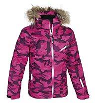 Hot Stuff Anna Girl Kinder-Skijacke, Print Camouflage