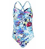 Hot Stuff Aqua Flower - costume intero - donna , Blue/Pink
