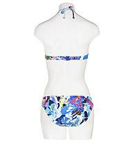 Hot Stuff Aqua Flower - reggiseno costume - donna , Blue/White/Pink
