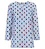 Hot Stuff Bluse - Damen, White/Blue