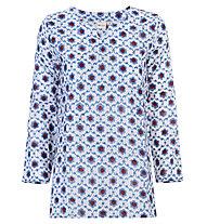 Hot Stuff Bluse - Damen, White/Blue