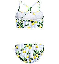 Hot Stuff Capri - Bikini - Mädchen, Light Blue/White/Yellow