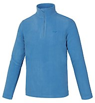 Hot Stuff Maglia in pile Dennis Fleece 1/2 Zip, Swedish Blue