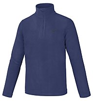 Hot Stuff Maglia in pile Dennis Fleece 1/2 Zip, Patriot Blue