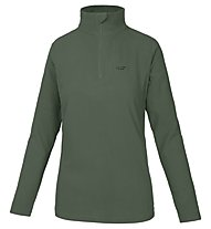 Hot Stuff Elisa Fleece 1/2 Zip Damen-Fleecepullover, Dark Green