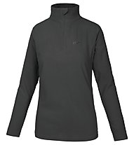 Hot Stuff Elisa Fleece 1/2 Zip Damen-Fleecepullover, Caviar Black