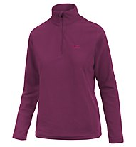 Hot Stuff Elisa Fleece 1/2 Zip - maglia in pile - donna, Purple