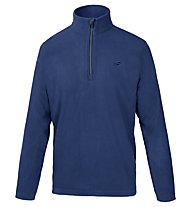 Hot Stuff Half-Zip - Fleecepullover, Blue/Black
