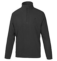 Hot Stuff Half-Zip - Fleecepullover, Black