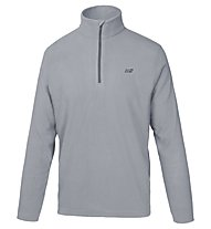 Hot Stuff Half-Zip - Fleecepullover, Grey