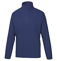 Hot Stuff Half-Zip - Fleecepullover, Blue/Blue