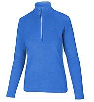 Hot Stuff Fleece Half Zip Fleecepullover - Damen, Light Blue/Silver