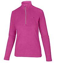 Hot Stuff Fleece Half Zip Fleecepullover - Damen, Pink/Silver