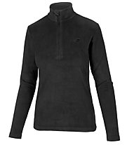 Hot Stuff Fleece Half Zip - maglia in pile - donna, Black