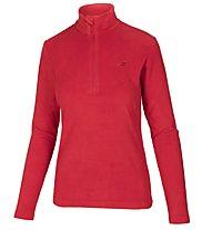 Hot Stuff Fleece Half Zip Fleecepullover - Damen, Red