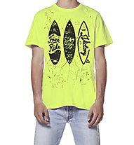 Hot Stuff Free Ride Surf - T-shirt - uomo, Yellow
