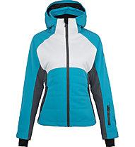 Hot Stuff Genziana - Skijacke - Damen, Light Blue/Grey/White