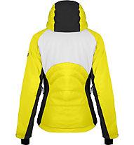 Hot Stuff Genziana - Skijacke - Damen, Yellow/Black/White