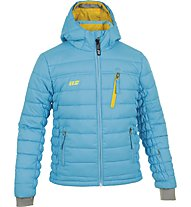 Hot Stuff Padded Jkt Girl Kinder Skijacke mit Kapuze, Blue
