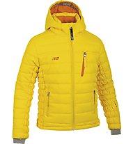 Hot Stuff Padded Jkt Girl Kinder Skijacke mit Kapuze, Yellow