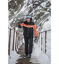 Hot Stuff Isol HS - Skijacke - Herren, Black/Orange