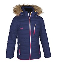 Hot Stuff Daniela Girl Kinder Skijacke mit Kapuze, Patriot Blue