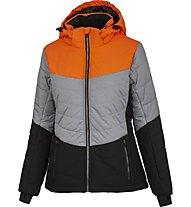 Hot Stuff JKT Woman - Skijacke - Damen, Grey/Orange
