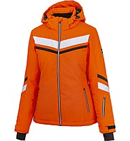 Hot Stuff Stripe JKT Woman - Skijacke - Damen, Orange/Black