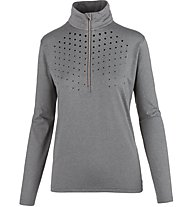 Hot Stuff Layer Woman Glitter - maglia da sci - donna, Grey