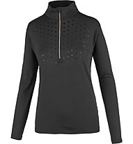 Hot Stuff Layer Woman Glitter - Skipullover - Damen, Black