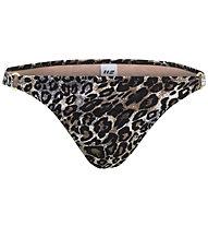 Hot Stuff Leo - Bikiniunterteil - Damen, Black/Brown