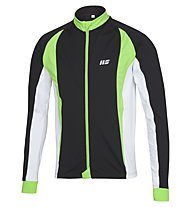 Hot Stuff Men's Brushed Jersey - Maglia Ciclismo, Black/Lime