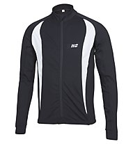 Hot Stuff Men's Brushed Jersey - Maglia Ciclismo, Black/White