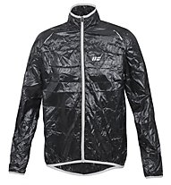 Hot Stuff Men's Wind Jacket - Giacca Ciclismo, Black