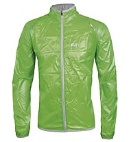 Hot Stuff Men's Wind Jacket - Giacca Ciclismo, Green