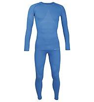 Hot Stuff Men Set Long Unterwäsche-Komplet, Blue