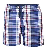 Hot Stuff Men Short Karo, Navy/Red