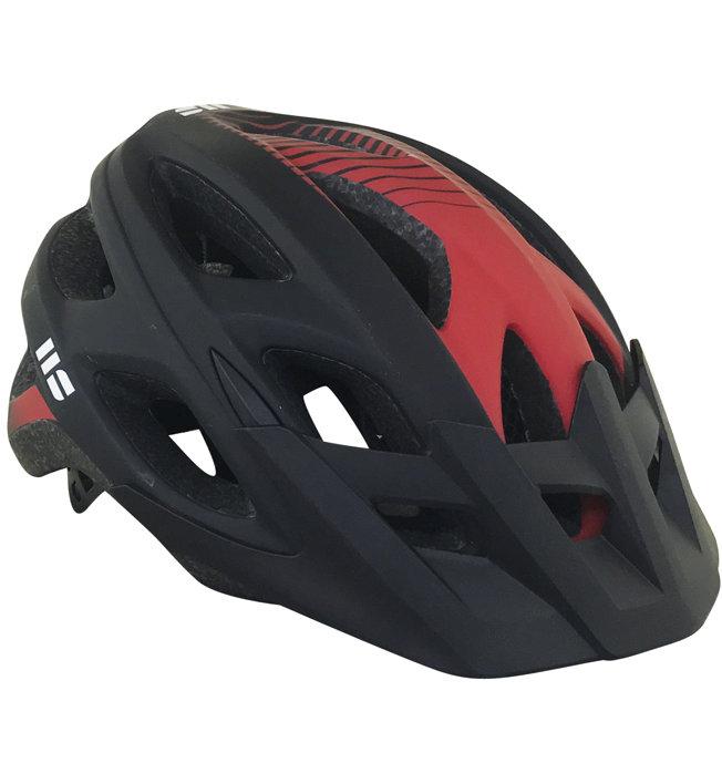 Hot Stuff MTB Senior Helmet - Radhelm, Black/Red