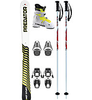 Hot Stuff Predator Jr Set: Ski+Bindung+Skischuhe+Stöcke