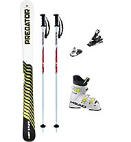 Hot Stuff Set Predator JR 140 cm + attacco+bastoncini+scarponi
