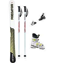 Hot Stuff Set Predator JR 140 cm +Bindung+Stöcke+Skischuhe