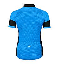 Hot Stuff Race - Radjersey - Herren, Light Blue/Black
