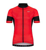 Hot Stuff Race - Radjersey - Herren, Red/Black