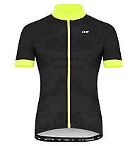 Hot Stuff Race - Radjersey - Herren, Black/Yellow
