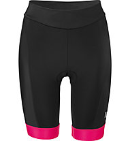 Hot Stuff Race Tight Lady - Radhose kurz - Damen, Black/Pink